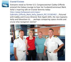 Crystal Cruises enrichment programs and genuine shipboard experience are inspiring.