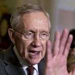 Amid GOP complaints about airport delays caused by sequestration, Senate Majority Leader Harry Reid (D-NV) said he intends to promptly introduce legislation to use war savings to pay down automatic, across the board spending cuts for five months.