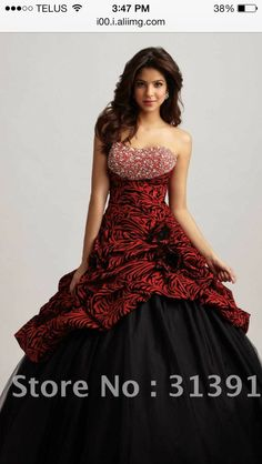 My dream grad dress that I couldn't get because it was too expensive