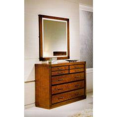 Cómoda Contemporánea recta con 5 cajones #Ambar #Muebles #Deco #Interiorismo #Outlet