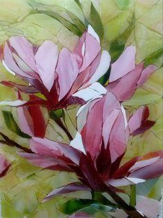 Magnolia mosaic