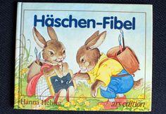 Häschen-Fibel, ars edition *Ostern* von Retro Püppi auf DaWanda.com