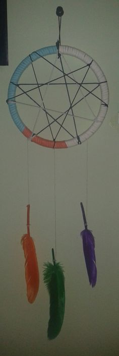 DIY dreamcatcher ( inspired by Mr.Kate )