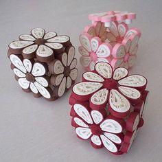 Scatolina fiore portaconfetti