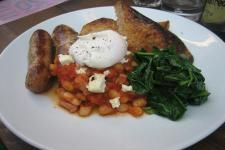 Lantana on Charlotte Place takes me right back to Sydney every time I have brunch there. It's always heaving on Sunday, but worth the wait.