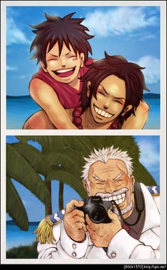 15 Best Luffy&Ace&Garp(One Piece) images in 2014 | One piece