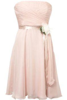 Coast pink chiffon bridesmaid dress