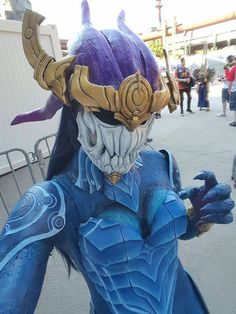 Aurelion Sol from League of Legends Cosplayer: Mowky Cosplay