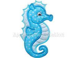 Whale Applique Machine Embroidery Design by AppliquetionStation