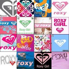 A lot of Roxy symbols