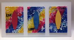 Live Love Surf by Kooky Makes - Lulu Art Design Team - www.luluart.com.au