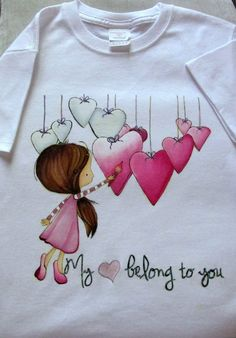 Pin by Abiageal Bree on home Fabric Paint Shirt, Paint Shirts, T Shirt Painting, Fabric Painting, Fabric Art, Hand Painted Dress, Painted Clothes, Fabric Paint Designs, Diy Clothes
