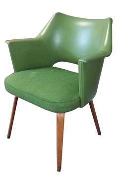 Green Thonet Bentwood Armchair