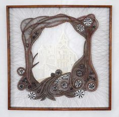 Bobbin Lace Patterns, Lace Heart, Lace Jewelry, Hobbies And Crafts, Lace Detail, Textiles, My Favorite Things, Frame, Handmade