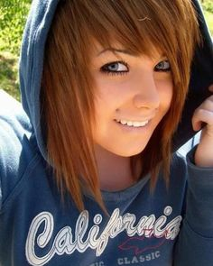skater girl hairstyles | emo hairstyles 150 emo hairstyles 153