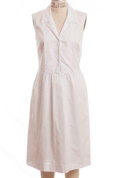 Jenni Kayne Cotton Lapel Dress. Shop this look at: www.shopserafina.com
