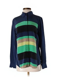 Check it out—Equipment Long Sleeve Silk Top for $43.99 at thredUP!