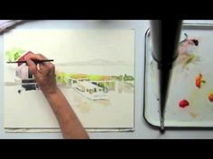 Fishing Shack, A Watercolor Tutorial by Jan Pastor, Part 2