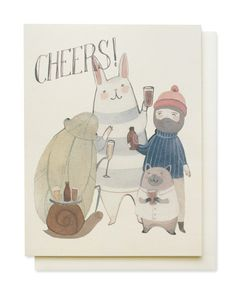 beers cheers card