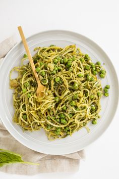 Peas and Pesto Potat