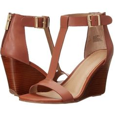 Kenneth Cole Reaction Ava Gave Women's Wedge Shoes Ankle Wrap Sandals, Ankle Strap Shoes, Wedge Sandals, Wedge Shoes, Shoes Sandals, Strap Sandals, Womens Shoes Wedges, Womens High Heels, Cute Shoes