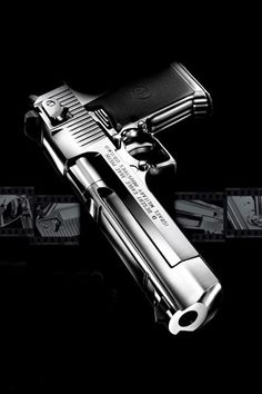 Desert Eagle .50AE caliber.