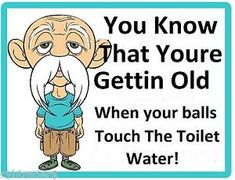 Funny You're Getting Old Refrigerator / Tool Box / File Cabinet Magnet Aging Quotes, Old Quotes, Funny Old Age Quotes, Funny Birthday Jokes, Funny Jokes, Birthday Quotes, Old Man Jokes, Old Man Birthday, Belated Birthday