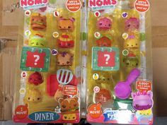 Num Noms Series 1 Go Go Cafe Play set With 2 x 8 Packs Series 2 Num Noms *NEW* in Toys, Hobbies, Other | eBay