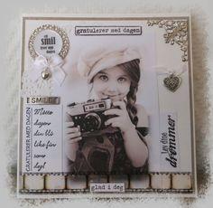 Connie`s lille verden Cards, Home Decor, Thankful, Lily, Maps, Interior Design, Home Interior Design, Home Decoration, Decoration Home