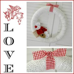 Come Make a Burlap, Yarn and Felt Flower Wreath (with a Dollar Tree pool noodle) for About $5. Valentine's Day Decor Can Be Simple, Thrifty