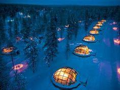 Igloo Hotel 'Kakslauttanen', Finlandia