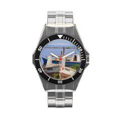 Crab boats wristwatch