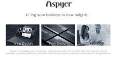 Aspyer Media LCC web design, print and more contact us for more information Melissa@Aspire.com