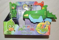 New PJ Masks Gekko Mobile Green Car Gecko Disney Junior Super Hero  #Disney