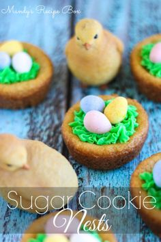 Sugar Cookie Nests | Mandy's Recipe Box