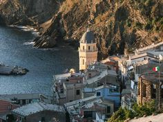 Italy's Stunning Cinque Terre: A Town-to-Town Hiking Guide: Vernazza - We made it to our final destination in the Cinque Terre!