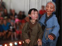 """""""The Dragon King -Tanglewood Marionettes"""