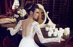 Hadas Cohen wedding dresses are known for their perfect shape, quality fabrics, attention to detail, and luxurious gemstones. This gorgeous bridal collection mixes contemporary trends that are always fashionable with a classical style that incorporates traditional elements of romance and a certain soft regality. Take a look and happy pinning!