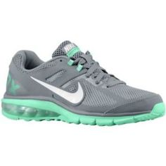 new products 5795c 50ccb Nike Air Max Defy Run - Women s - Running - Shoes - Cool Grey Green Glow  White