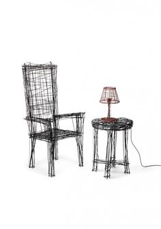 des meubles gribouillés - Jinil Park #design #furniture
