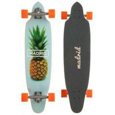 "Madrid Lonboard squid 36"" pineapple 2014 http://www.krakatoa.fr/fr/long-skate-complet/419180-madrid-lonboard-squid-36-pineapple-2014-817956016272.html"