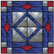 Ozark Stained Glass: Free Quilt Patterns