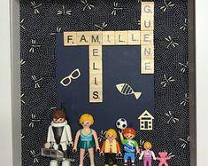 Mars&Yèse par Marsetyese sur Etsy Lego, Scrabble Letters, Dyi, Crafts For Kids, Frames, Etsy, Decoration, Ideas, The Originals