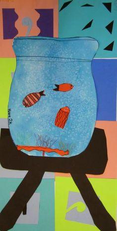 Matisse Collage - 2nd Grade
