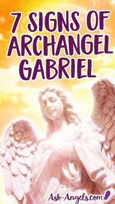 Archangel Gabriel signs may be different than expected. Are you're experiencing any of these the top signs of Archangel Gabriel? Number 7 is life changing! Archangel Raphael, Raphael Angel, Your Guardian Angel, Guardian Angel Quotes, Angels In Heaven, Heavenly Angels, A Course In Miracles, Angel Numbers, Angels Among Us