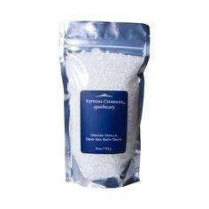 Dead Sea Bath Salts (28 oz) Orange Vanilla