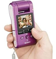 Sony Webbie HD MHS-PM1 camcorder