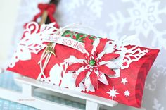 """Crafting ideas from Sizzix UK: A """"Dear Santa"""" Gift Box by Gerry van Gent"""