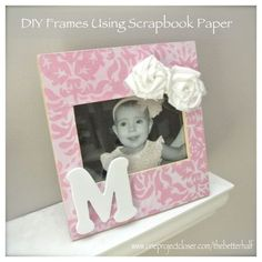 DIY frame for cheap!!! tutorial for frame and flowers. :) great gift idea.