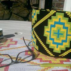 Work in progress   #haken #wayuumochila #RiannesHaaksels #doehetzelfvrouw